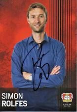 Autogramm - Simon Rolfes (Bayer Leverkusen) - 2018/2019 - nicht im Kaufsatz