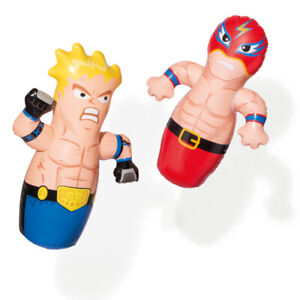 94cm Kids Free Standing Inflatable Boxing Punch Bag Exercise Stress Relief Toys