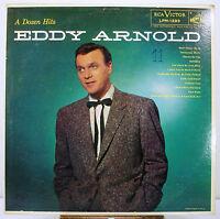 "12"" 33 RPM MONO LP - RCA VICTOR LPM-1293 - EDDY ARNOLD - A DOZEN HITS (1956)"