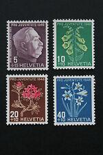 Timbre SUISSE / Stamp SWITZERLAND - Yvert et Tellier n°467 à 470 n** (CYN9)