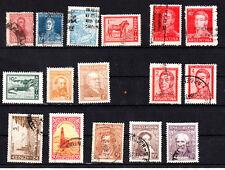 Argentinien,Argentina,Lot :13 gest. und 3 postfrische Briefmarken