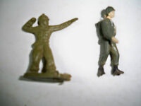 Plastic Toy Soldiers 2 Vintage 1 is painted -2""