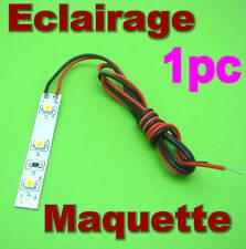 BC834# Eclairage maquette  LED ruban souple Blanc chaud