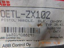 ABB OETL-ZX102 PISTOL GRIP (ON/OFF) LOCKING HANDLE