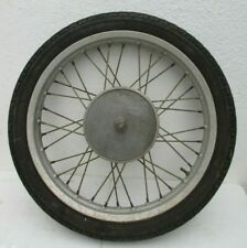 Oldtimer Motorrad Felge komplett mit original Bereifung 2,75-18R 160x18 PNEUMANT
