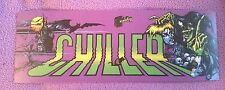 Chiller Arcade Marquee sticker. 3 x 8.5. (Buy any 3 stickers, Get One Free!)
