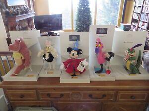 Steiff Disney Fantasia Mickey Hippo Ali Gator Upanova Flamingo All Number 00368