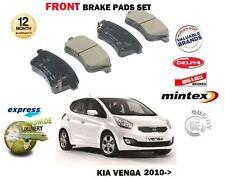 FOR KIA VENGA 1.4 1.6 CVVT + CRDI  2010-> NEW FRONT BRAKE DISC PADS SET