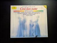 Mozart COSI FAN TUTTE 3 CD Set Levine Te Kanawa (Deutsche Grammophon, 1989)