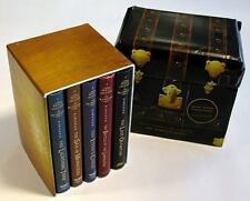 Percy Jackson and the Olympians Hardcover Boxed Set: Books 1 -