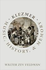 KLEZMER - FELDMAN, WALTER ZEV - NEW HARDCOVER BOOK