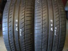245/45/18 Pair of Michelin Primacy HP tyres 5 - 5.5 mm 245 45 18