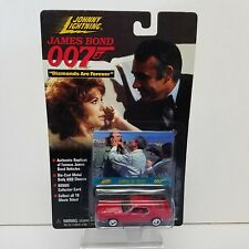 Johnny Lightning James Bond 007 Ford Mustang 1:64 Scale Diecast Replica