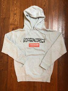 New FA F*cking Awesome Censored Hoodie Sweatshirt Jason Dill Supreme FW17 Size S