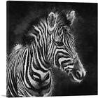 ARTCANVAS Zebra Black White Stripes Africa Canvas Art Print