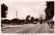 East Greenwich. Blackwall Lane by A.E.S.& Co. Tram.