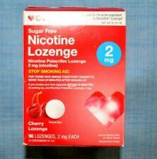 CVS Nicotine Polacrilex Lozenge 2mg - Cherry - 96 Count - Exp.11/21+