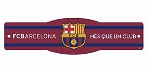 "FC Barcelona 4"" x 17"" Street Sign Futbol - La Liga"