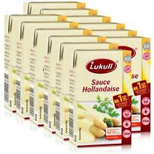 Lukull Sauce Hollandaise Zubereitung