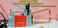 Alpha Spot Weld 240V Portable Spot Welder + 2 Welding Tip Sets (2mm/5mm) Welding