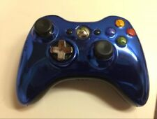 Microsoft Xbox 360 Official Wireless Special Edition Controller - Chrome Blue