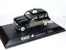 Voiture 1/43 Universal Hobbies Renault R 4 L  : parisienne 1964