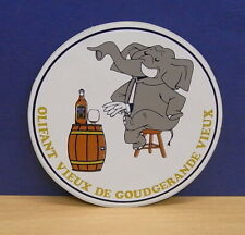 1x Sticker - Decal Olifant Vieux with org.back 80's (02065)