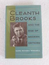 Mark Royden Winchell  CLEANTH BROOKS  University Press of Virginia  1996 HC/DJ