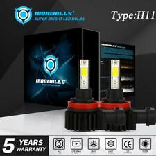 H11 H9 LED Headlight Bulbs Low Beam Fog Light 2200W 330000LM 6000K Xenon White