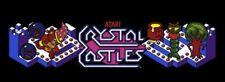 Crystal Castles Arcade Marquee – 26″ x 8″