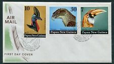 FIRST DAY COVER.... Birds on Stamps.  PNG  1974 birds of prey heads