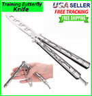Butterfly Trainer DRAGON Training Dull Tool Black knife Metal Practice