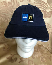 NATIONAL GEOGRAPHIC LINDBLAD LOGO HAT Adjustable Embroidered Logo Cotton >NEW<