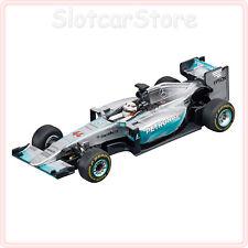 """Carrera digital 143 41387 mercedes f1 w06 híbrido """"L. hamilton nº 44"""" 1:43 auto"""
