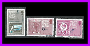 Virgin Islands: 1979 ROLAND HILL stamp issue - all values - mint light hinged