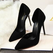 Fashion Women Lady New Shoes Stiletto Pointed Toe Shallow High Heel Pumps Shoes