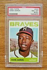 1964 Topps PSA 8 NM-MT(OC) #300 Hank Aaron Milwaukee Braves