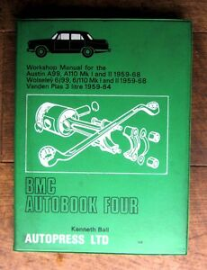 BMC Autobook 4, Workshop Manual For Austin A99,110 Mk 1&2 wolsey 6/99 etc