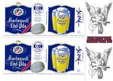 Digitale Karlsquell Sticker Vorlage per E-mail, slime,punk,rock,bier,kult,aldi,