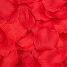 100/1000 Pcs Flower Rose Petals Wedding Party Table  Floral Confetti Decoration