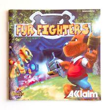 Notice Fur Fighters Sega Dreamcast