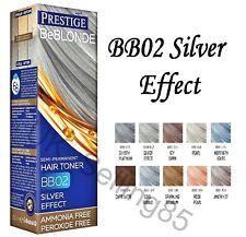 PRESTIGE BeBlonde CHOOSE COLOR Semi-Permanent HAIR TONER Ammonia Free NEW