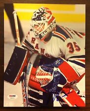 Mike Richter autograph 8 X 10 signed photo PSA NHL New York Rangers