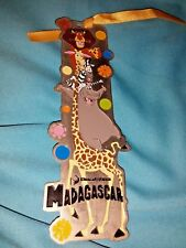 Universal Studio Singapore™ Madagascar© 2012 Metallic Bookmark, Nice Used