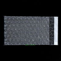 "105 PCS Clear Bubble Cushioning Pouches Bag 5.5"" x 6""_140 x 150+25mm_Self Seal"