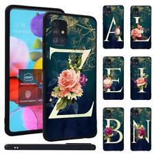 Intials Phone Case Cover For Samsung Galaxy A10 A20E A30S A40 A50 A70 A71