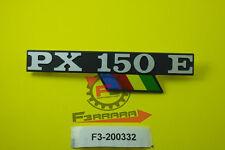 F3-200332 Targhetta Laterale Piaggio Vespa PX 150 E  ARCOBALENO   VLX