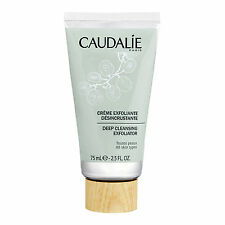 CAUDALIE Deep Cleansing Exfoliator 2.5oz,75ml Skincare Cleanser Purify Smooth