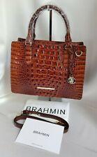 ❤️ BRAHMIN Small Camille Handbag in Pecan Melbourne  NWT + Reg Card ❤️