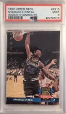 New listing 1992 Upper Deck Shaquille O'Neal Rookie Sensations PSA 9